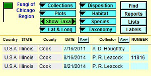 Photo showing 3 records from Illinois.