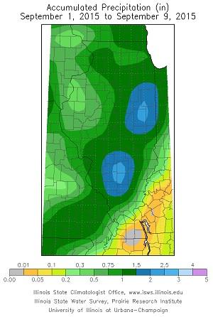 Image of rainfall map.